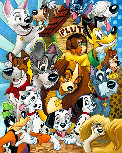 (Disney Animal Characters Iron On Transfer for T-Shirts & Other Light Color Fabrics #20)