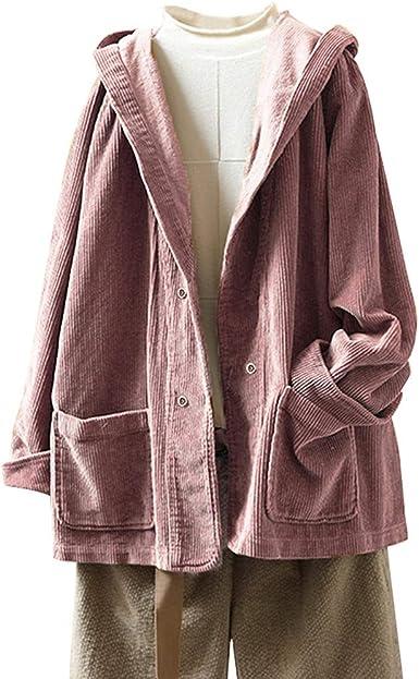 manteau velours cotelé femme capuche