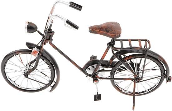 D DOLITY Modelo de Bicicleta Antigua Arte de Trabajo de ...