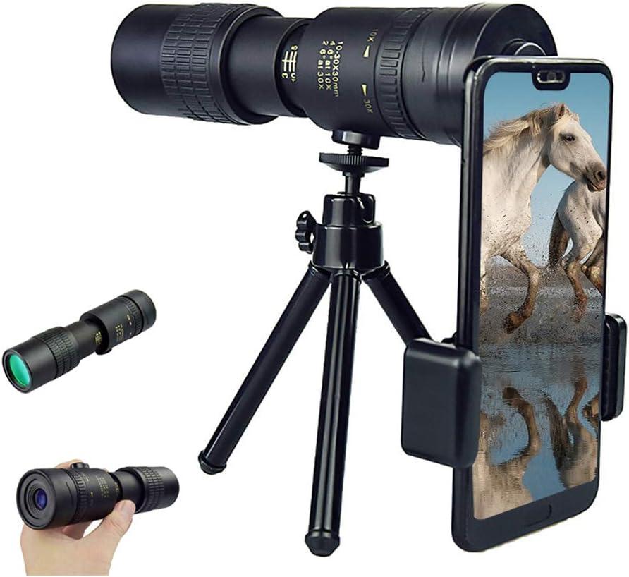 Premium Telescope and Smartphone Holder Sunnyadrain(4K10-300X40mm Super Telephoto Zoom Monocular Telescope