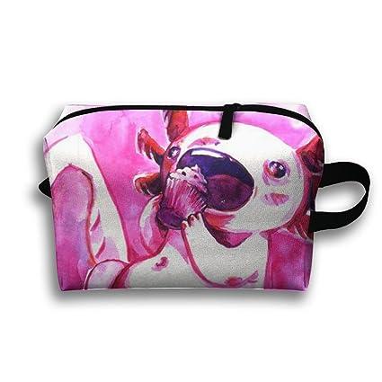 7a7737d240de Amazon.com: CUW BBCUW Handy Travel Toiletry Bag Axolotl Love Cake ...