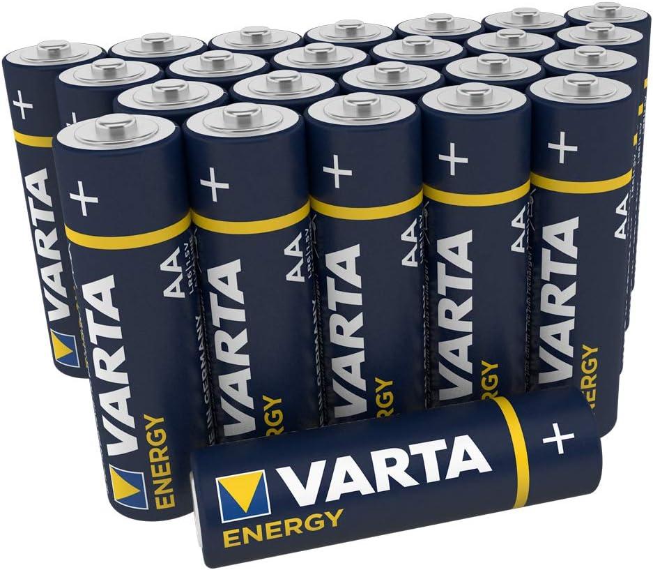 Pila VARTA Energy AA Mignon LR06 (paquete de 30 unidades), pila alcalina –
