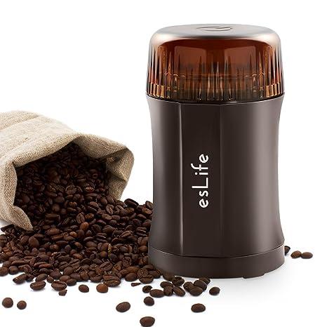 eslife eléctrica molinillo de café 200 W granos de café Nueces Especias cereales Mini kaffeemuehle con