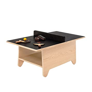 Huzi Table Tennis Set Play Table With Chalkboard Surface