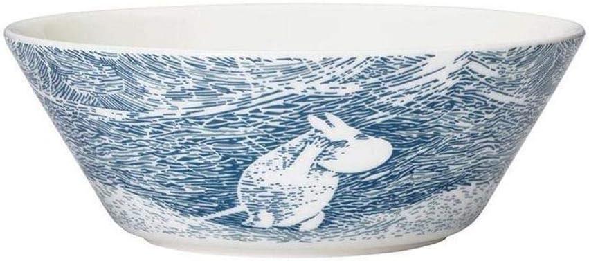 Arabia Ceramic Moomin Bowl Snow Blizzard 2020