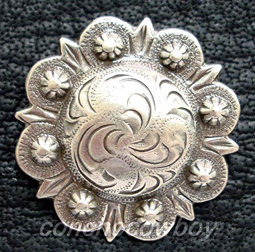 Conchos for Clothes Western Horse TACK Headstall Saddle Antique Berry Conchos 1-1/2