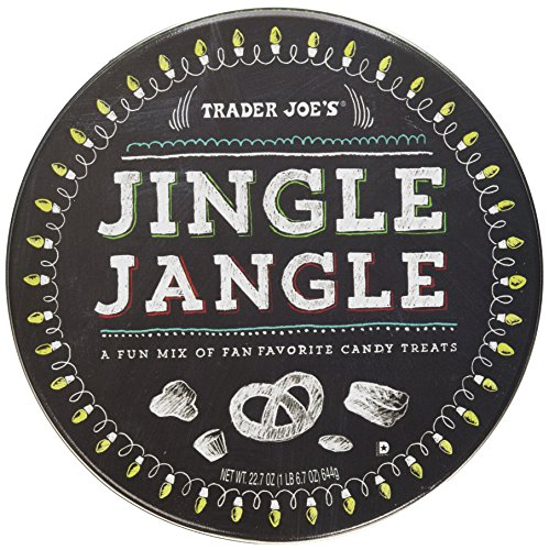 - Trader Joe's Jingle Jangle Holiday Mix of Candy Treats 22.7 oz