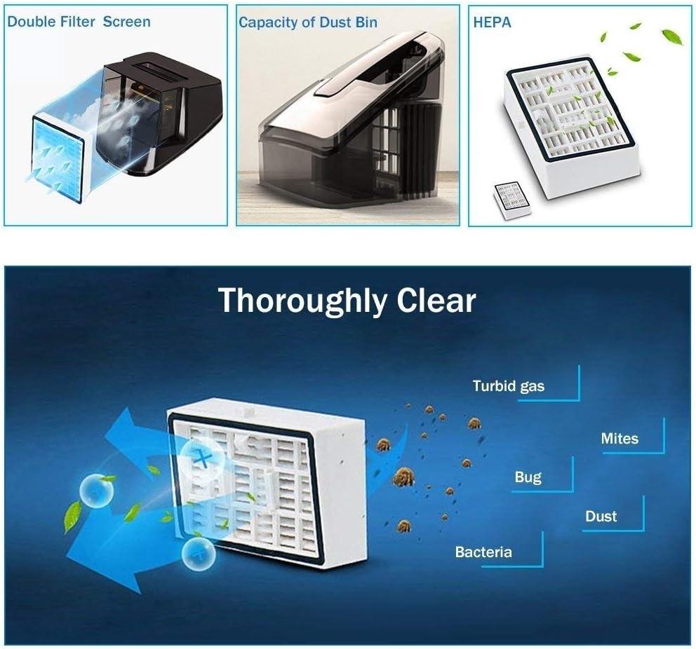 45532rr UV portatif Aspirateur Anti-Acariens UV Aspirateur Domestique, Anti-bactérienne Portable avec efficacité Hight (Color : Blue) Pink
