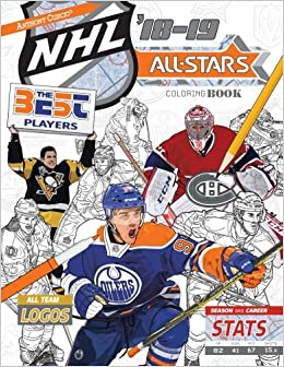 Hockey Coloring Book Hockey Coloring Books Sheets Book Ice ...