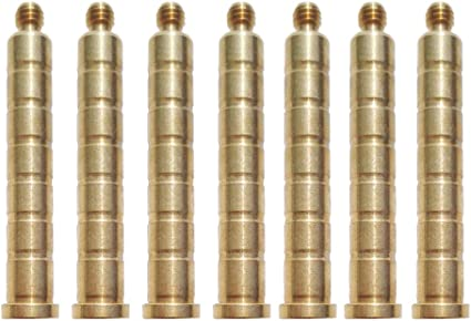 12pcs Aluminum Arrow Inserts Base 6.2mm for Broadheads Archery Arrows Practice