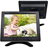 TOGUARD 8 Inch Color Security CCTV Inspection Tool Monitor 1024*768 LED Display Screen AV/VGA/HDMI/BNC Input