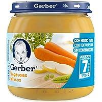 Gerber Papilla de Vegetales Mixtos, Etapa 2, (12 Piezas)