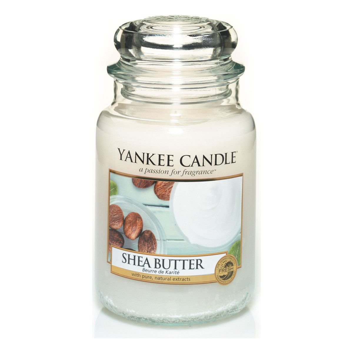 Yankee Candles Large Jar Candle - Shea Butter