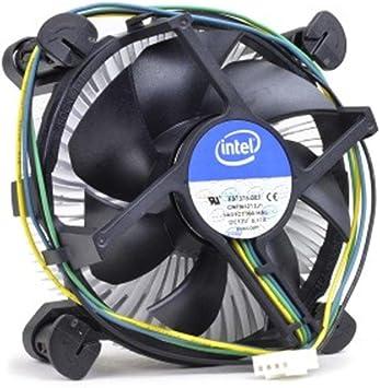 Intel E97375-001 Socket 775 Aluminum Heat Sink /& 3.5 Fan w//4-Pin Connector up to 65W TDP