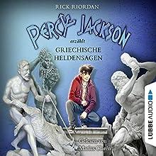 Percy Jackson erzählt: Griechische Heldensagen (Percy Jackson erzählt 2) Hörbuch von Rick Riordan Gesprochen von: Marius Clarén