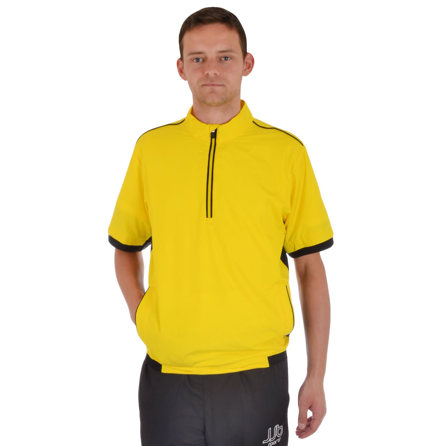 adidas Performance Mens ClimaProof Stretch Short Sleeve Golf Jacket - Large