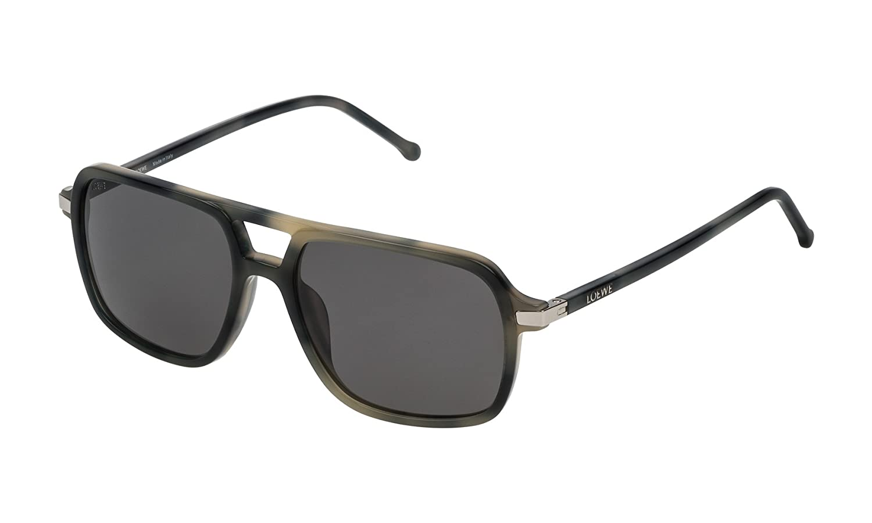 Loewe SLW973M5596NP Gafas de sol, Matte Grey Havana, 55 para ...
