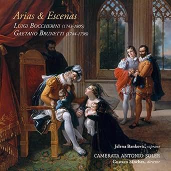 Arias & Escenas de Camerata Antonio Soler & Jelena Bancovic en ...
