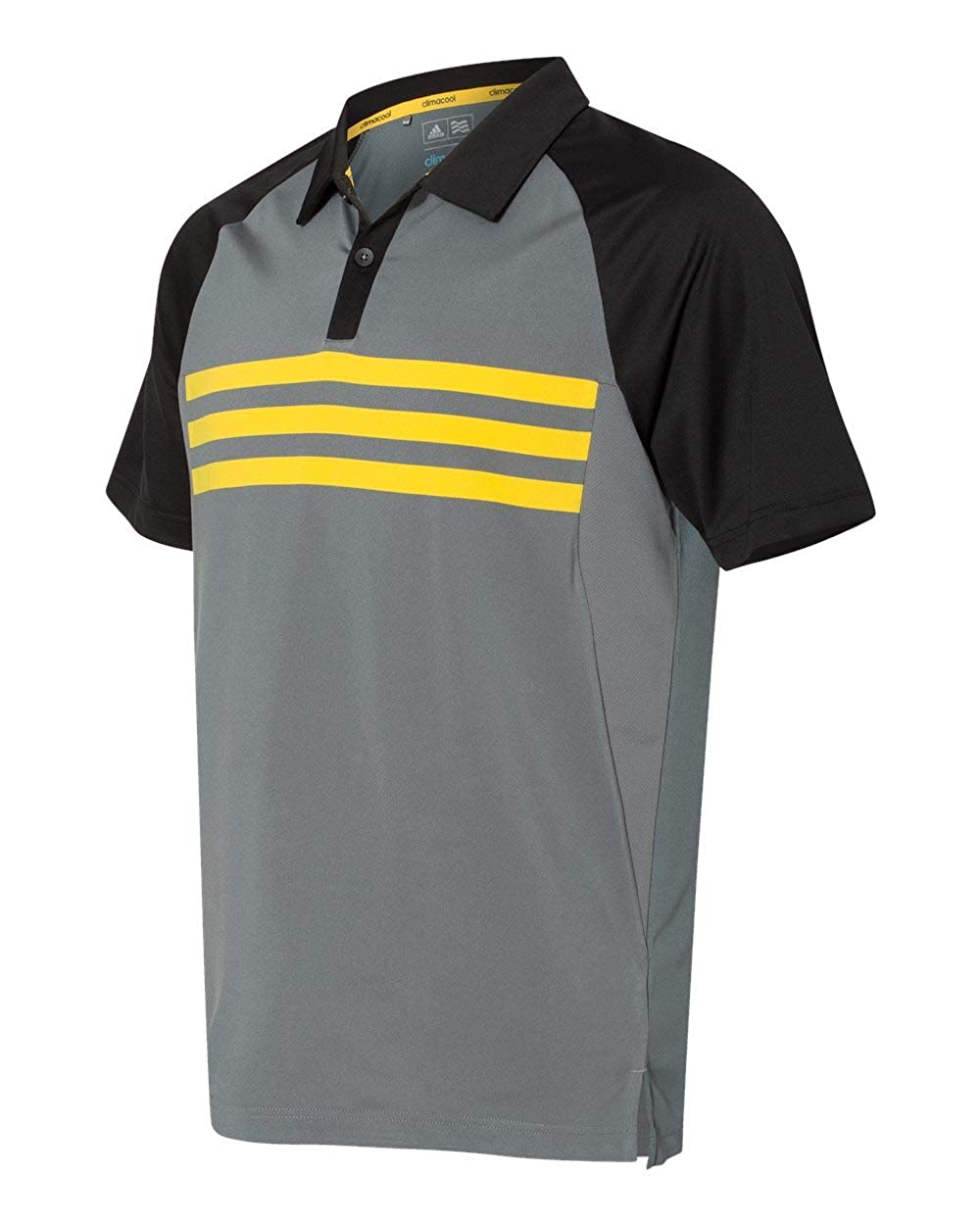 b85998622a8 adidas Mens Climacool 3-Stripes Sport Shirt (A224) at Amazon Men's Clothing  store: