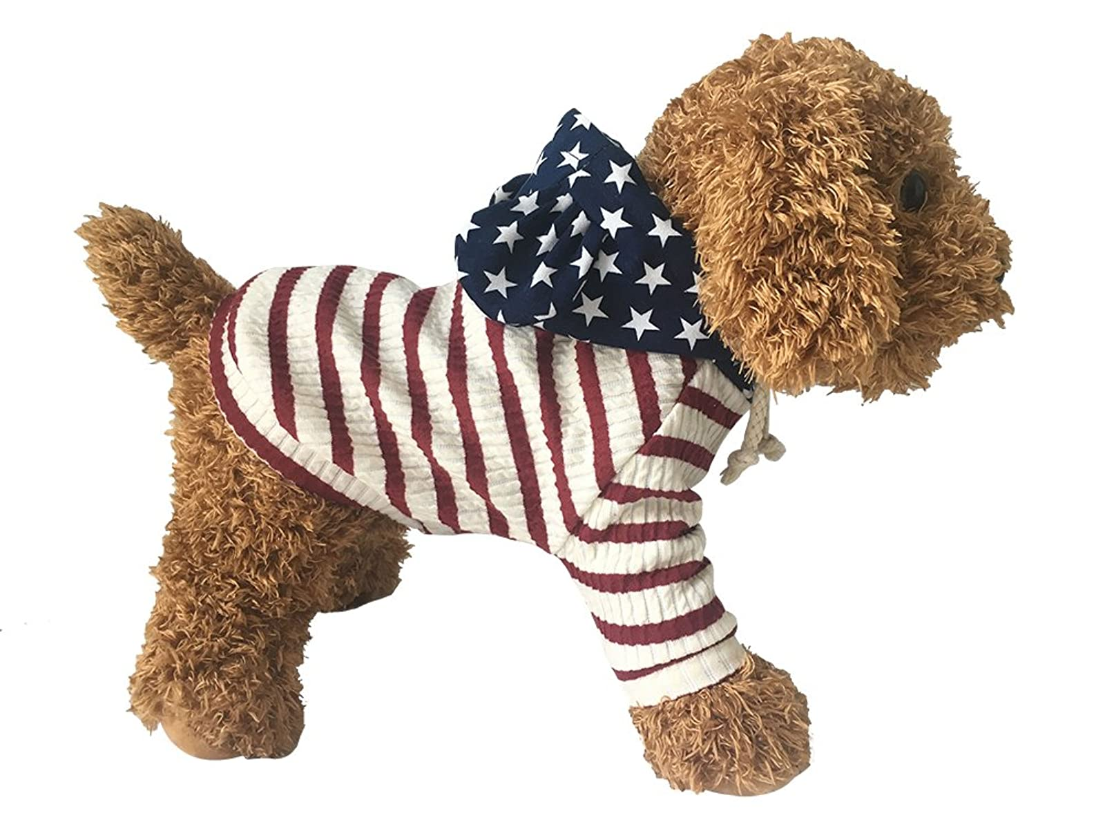 EastCities Pet Clothes Dog HoodiesSmall Dogs CatRed - 3