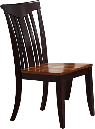 Iconic Furniture Modern Slat Back Dining Chair