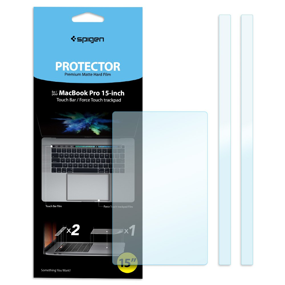 Spigen MacBook Pro Touch bar/TrackPad Protector with Matte Film for MacBook Pro 15''