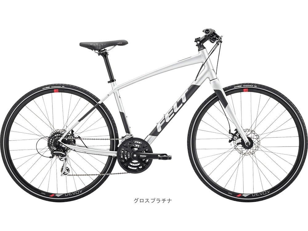 FELT(フェルト) 2018 VERZA SPEED 40 クロスバイク <グロスプラチナ> B078NPVSC4  510