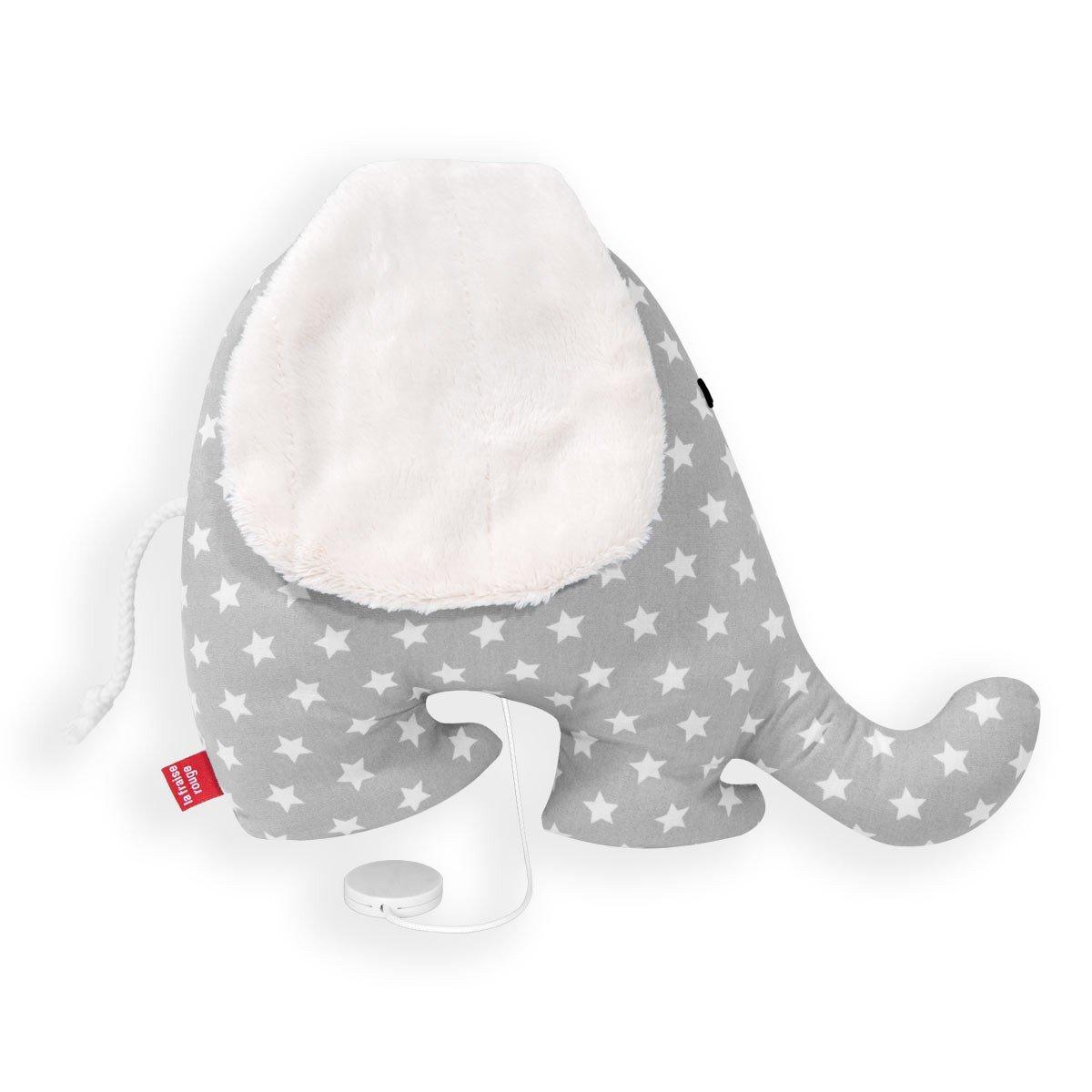 La Fraise Rouge 155610 155610 155610 Spieluhr Elefant Antoine (Schlaf Kindlein), M, grau 3d1b69