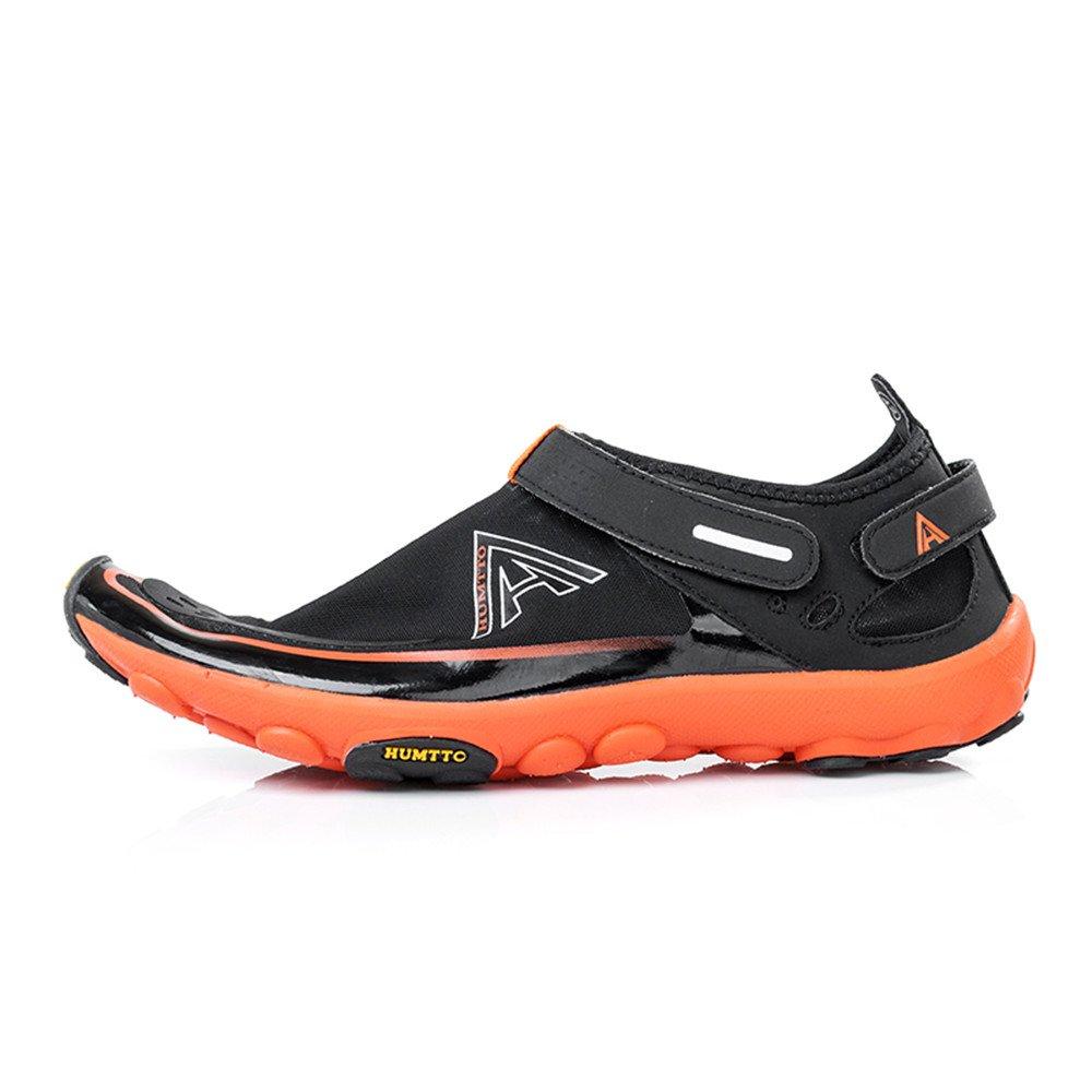 cheap for discount b1551 b5205 Zapatos de agua YIZER, Hombres Mujeres Ligero Malla transpirable Zapatillas Aqua  para Swim Walking Lake Canotaje en la playa Negro anaranjado