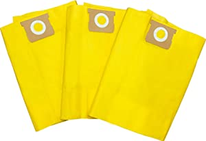 Tomkity 9 Pack Type G 90663 90673 Collection Filter Bag Compatible with Shop Vac 15 to 22 Gallon Vacuum