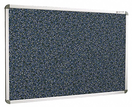Balt / MooreCo - 321RG-97 - Blue RubberTak Bulletin Board, Aluminum Frame Material, 72 Width, 48 Height -