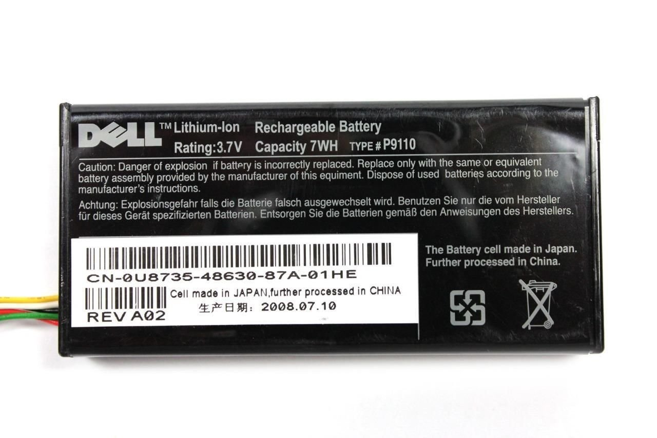 Dell Poweredge Server 2950 Perc 5i Sas Sata Raid Battery FR463 P9110 U8735 NU209 Dell Computers