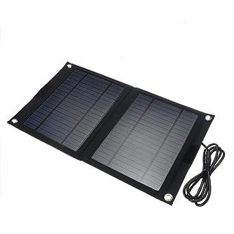 ExcLent Dc 12V / 5V Usb Portátil 25W Panel Solar Móvil Sun ...