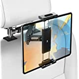 Car Tablet Holder, Headrest Tablet Mount - AHK Headrest Stand Cradle Compatible with Devices Such as iPad Pro Air Mini, Galax