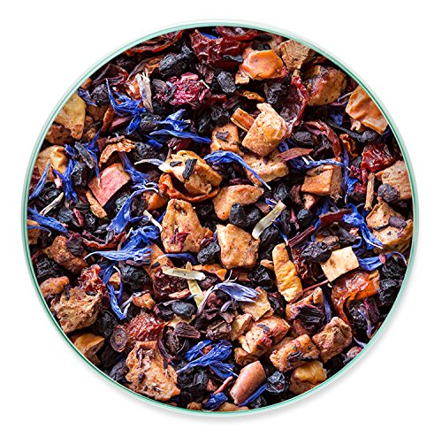 Tiesta Tea Blueberry Wild Child Blueberry Hibiscus Fruit Tea, 30 Servings, 1.8 Ounce Pouch - Caffeine Free, Loose Leaf Herbal Tea Eternity Blend, Non-GMO - incensecentral.us