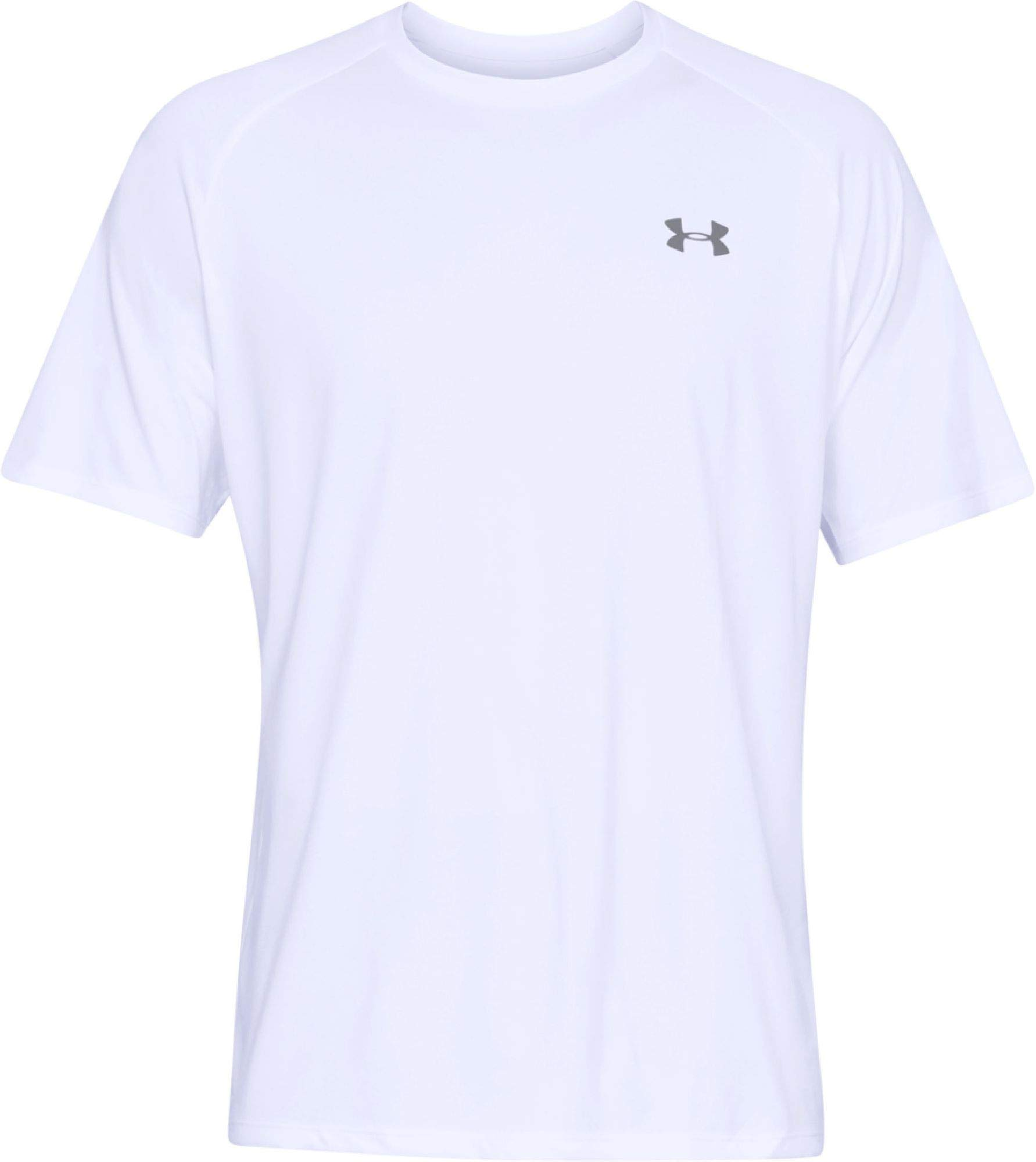 Under Armour Men's UA Tech Short Sleeve Tee 2.0, White, XS-R by Under Armour