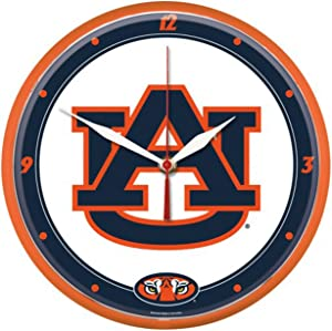 Auburn Tigers Round 12 inch Wall Clock