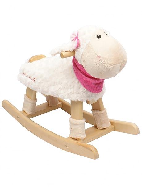 Fantastic Rocking Toy Lamb White With Sound Rocking Animal Inzonedesignstudio Interior Chair Design Inzonedesignstudiocom