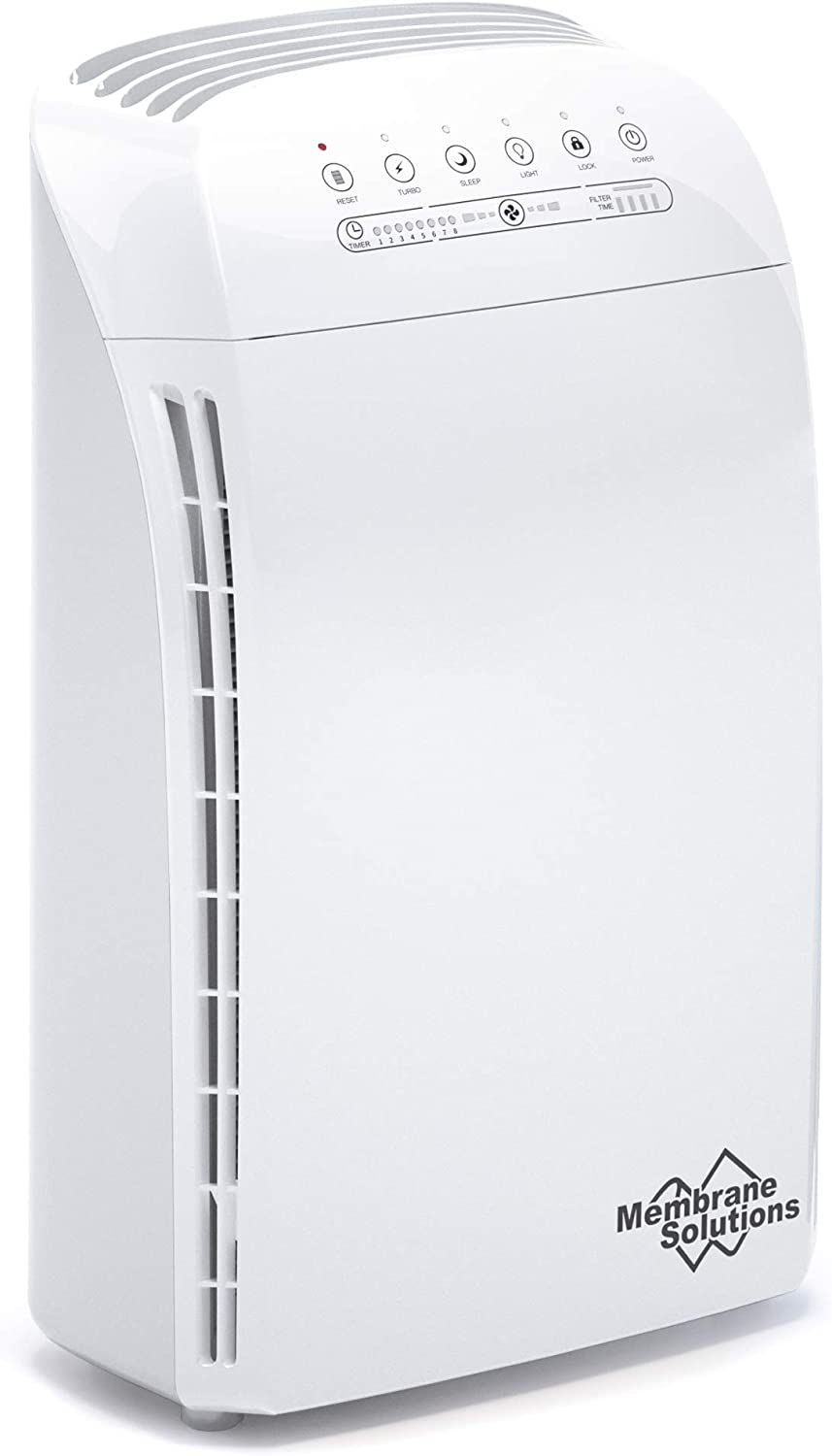 MSA3 Air Purifier for Home Large Room and Bedroom with True HEPA Filter, 100% Ozone Free Air Cleaner for Smokers, Pet and Allergies Remove 99.97% Allergens, Dust, Odor, Smoke, Pollen, Mold