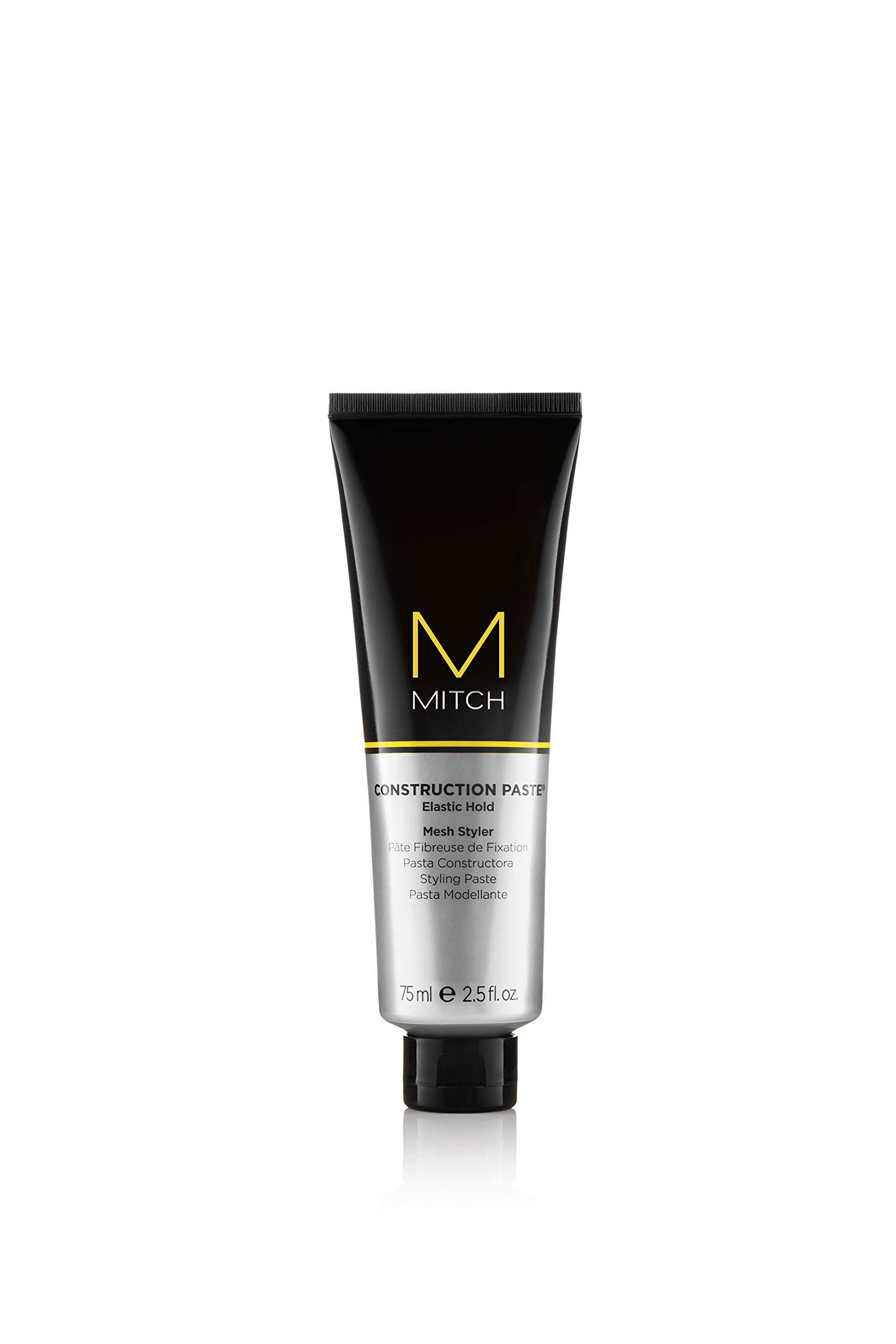 Paul Mitchell Mitch Construction Paste Elastic Hold Mesh Styler for Men, 2.5 Ounce
