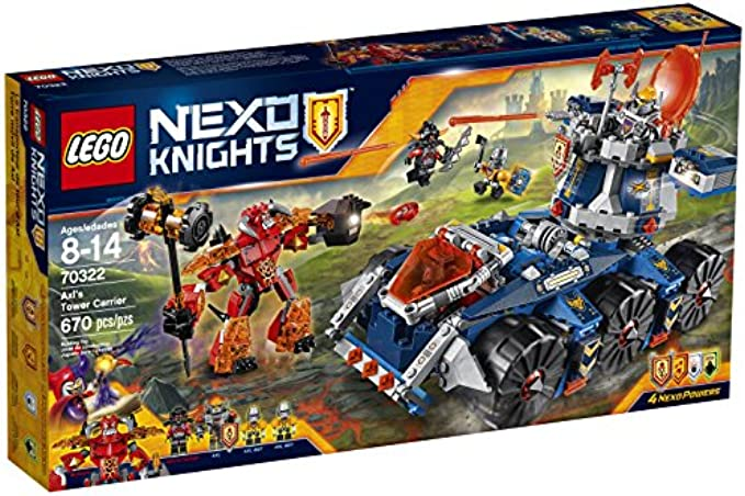 LEGO NexoKnights 70322 Axl's Tower Carrier