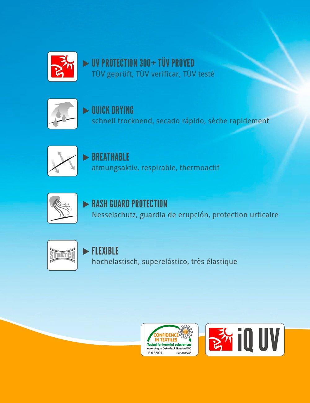 IQ-Company Herren UV-Anzug IQ IQ UV-Anzug 300 Overall Watersport b896a3