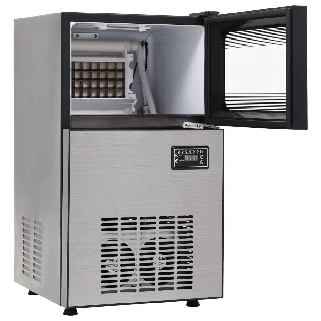 vidaXL Eisw/ürfelbereiter 420 W 45kg//24h Eisw/ürfelmaschine Eisw/ürfel Ice Maker