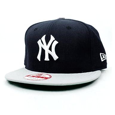 d44b0dbc92863c Amazon.co.jp: NEW ERA(ニューエラ) 9fifty 帽子 スナップバックキャップ MLB ニューヨーク ヤンキース  ネイビー/グレー: 服&ファッション小物