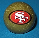 Officially Licensed NFL San Francisco 49ers Gold Billiard Pool Cue Ball