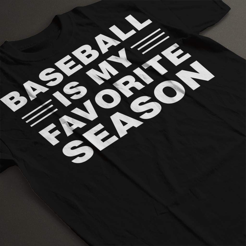 Baseball is My Favourite Season Kids T-Shirt