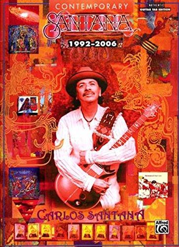 Santana: Contemporary Santana (1992-2006) Guitar Tab (Tab Guitar Santana)
