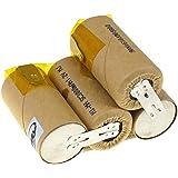 vhbw Batería NiMH 2000mAh (14.4V) para aspirador Vileda M-488a como ...