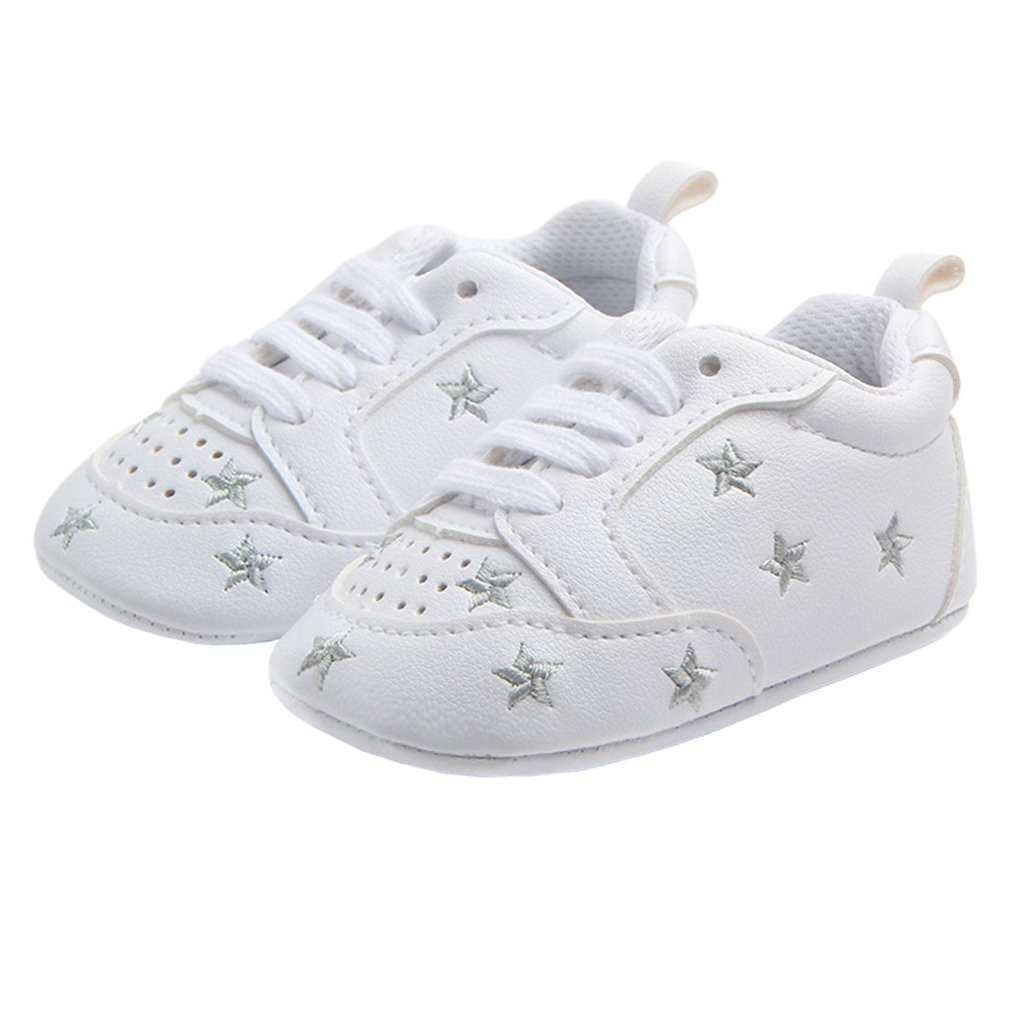 Annnowl Baby Sneakers Infants First Walkers Soft Sole Crib Shoes