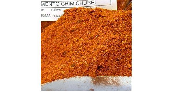 CONDIMENTO CHIMICHURRI MOLIDO SIN GLUTEN - bolsa 1k: Amazon.es: Alimentación y bebidas